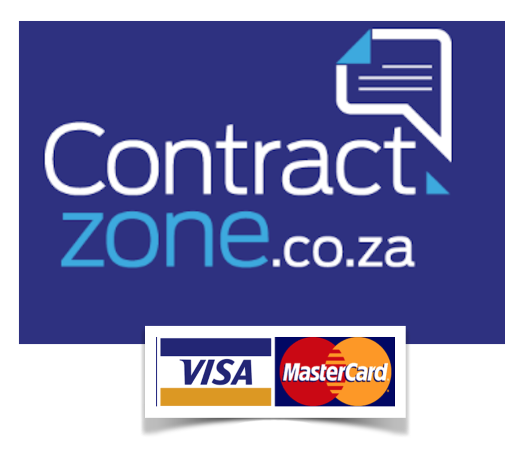 Contractzone pricing via Visa Mastercard accepted